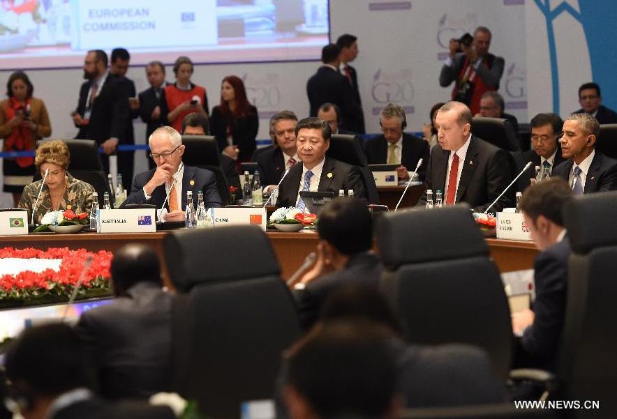 Le président chinois appelle à renforcer la croissance mondiale