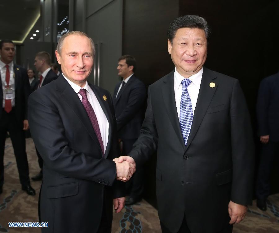 Le président chinois rencontre ses homologues