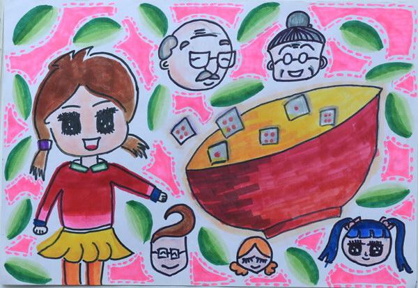 北京天安简笔画儿童画