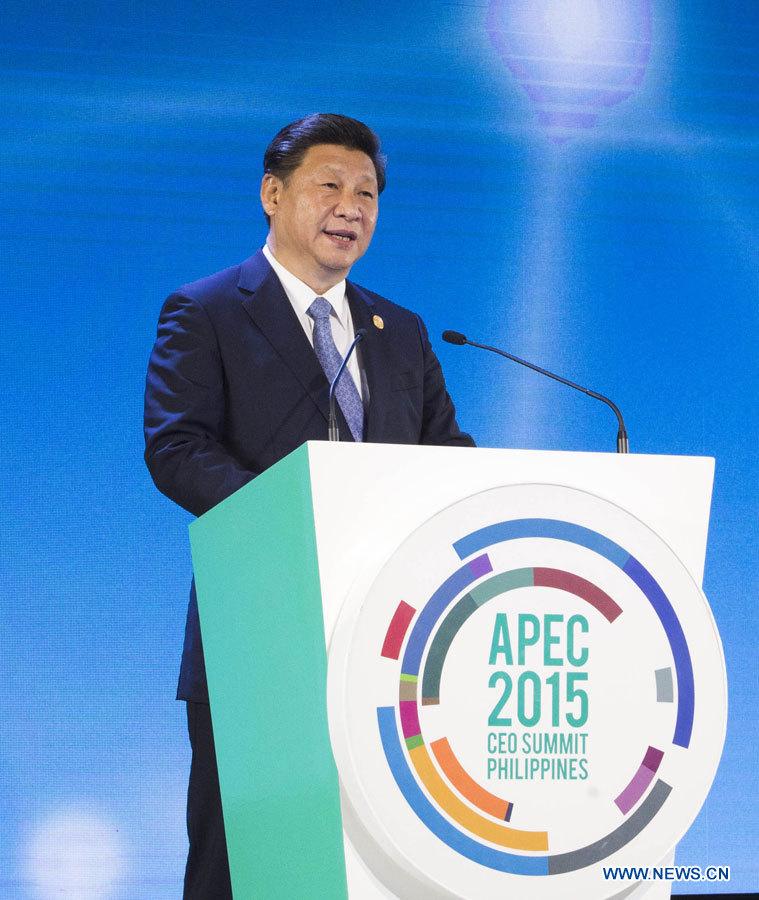 Connectivité dans la région Asie-Pacifique et zone de libre-échange sont les priorités du président Xi