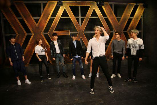 exo教学舞蹈