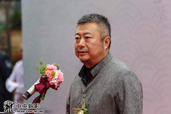 中央新影集团副总编辑、CCTV发现之旅频道负责人时间先生为仪式致辞