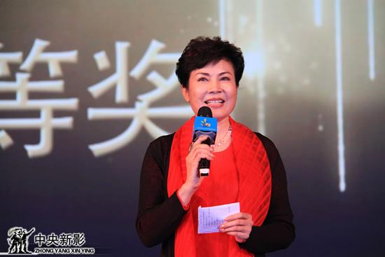中国少年儿童文化艺术基金会会长、首届中国少年儿童公益微电影大赛组委会主席阚丽君致辞。