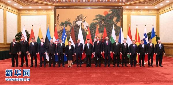 الرئيس الصيني يجتمع مع قادة أوروبا الشرقية والوسطى