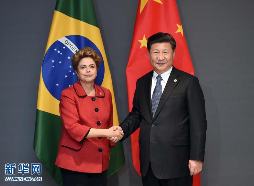 La Chine et le Brésil partagent des intérêts communs