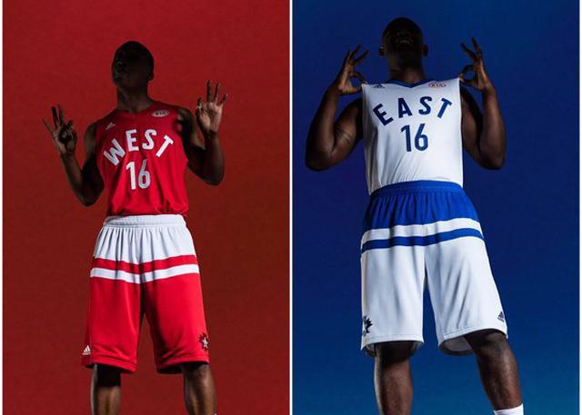 2016年nba多伦多全明星赛球衣设计公布
