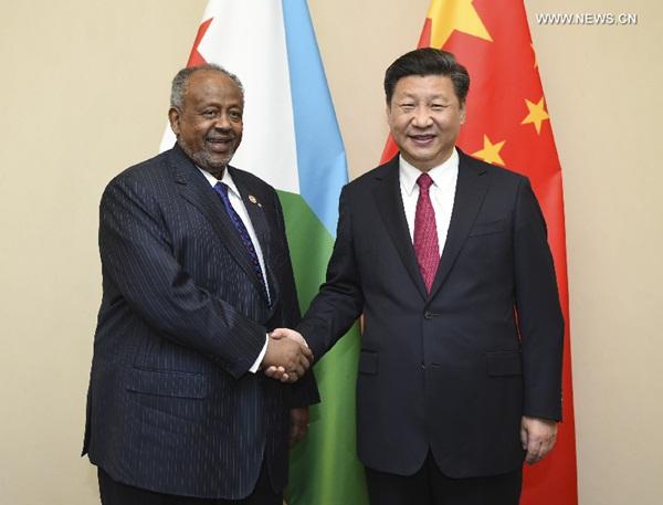 """الصين ترحب بمشاركة جيبوتي في مبادرة """"الحزام والطريق"""""""