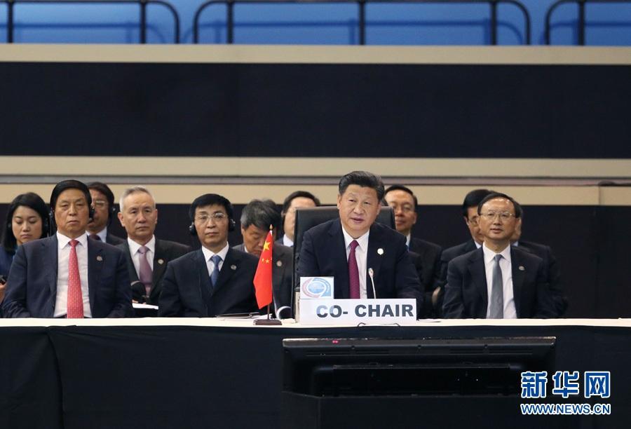 الرئيس الصيني يتعهد بدعم التنمية الأفريقية