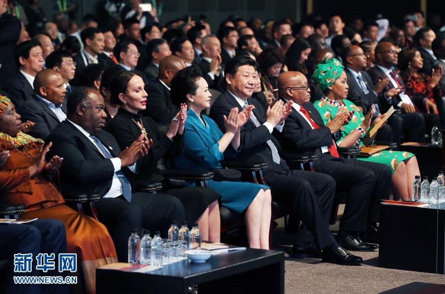 """الرئيس الصيني يحضر الحفل الختامي لـ""""عام الصين"""" في جنوب أفريقيا"""