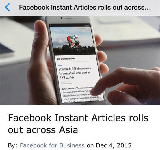 """臉書全球發布""""新聞推播功能""""亞洲地區合作伙伴"""
