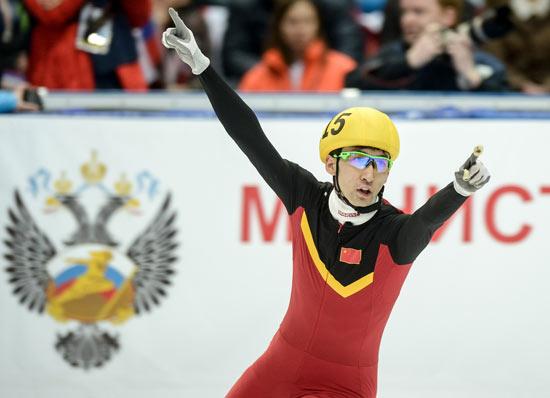 2015体坛风云人物年度最佳男运动员奖候选人:武大靖