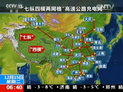 国家电网宣布将建七纵四横两网格充电网 概念股望爆发