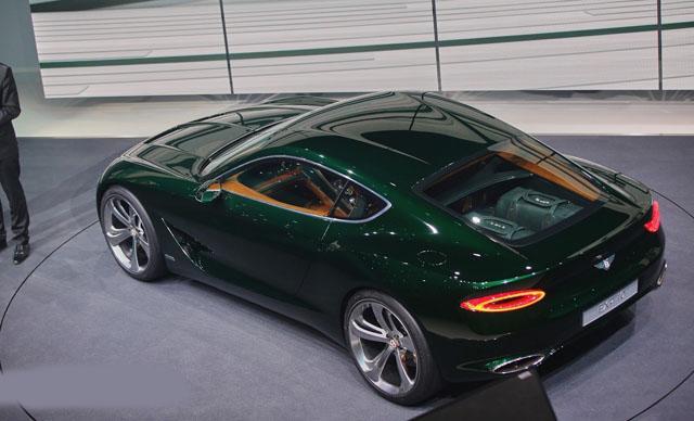 这款入门宾利跑车将有轿跑车和敞篷车两种车身款式-宾利EXP 10