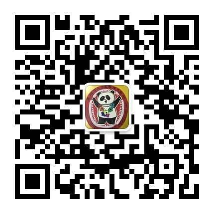 """Please scan the QR code and follow the subscription accounts """"熊猫小学童""""(""""Little Panda Learner"""") to enroll and submit your work."""