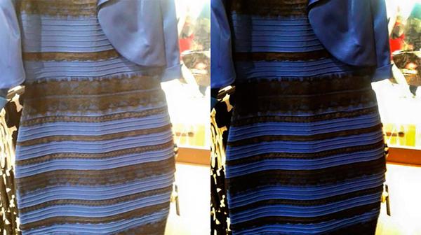1. La polémica sobre el color de este vestido