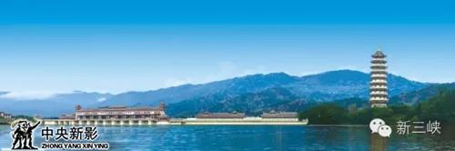 图为汉丰湖
