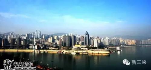 图为两江广场