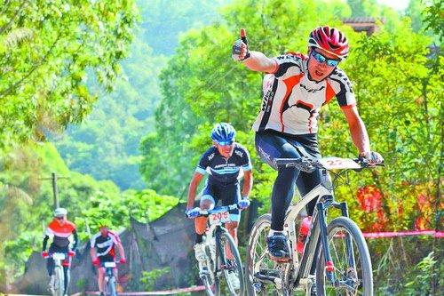 碧溪自行车赛》