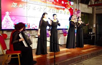 女声四重唱:苏联歌曲《山楂树》