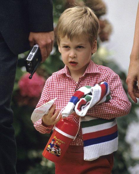 La première journée du prince George à l