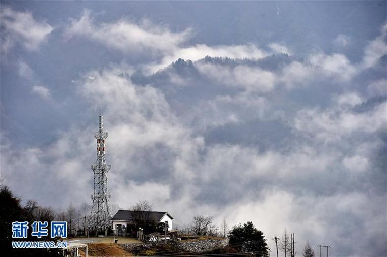 Hubei : lac de montagne ou mer de nuages?
