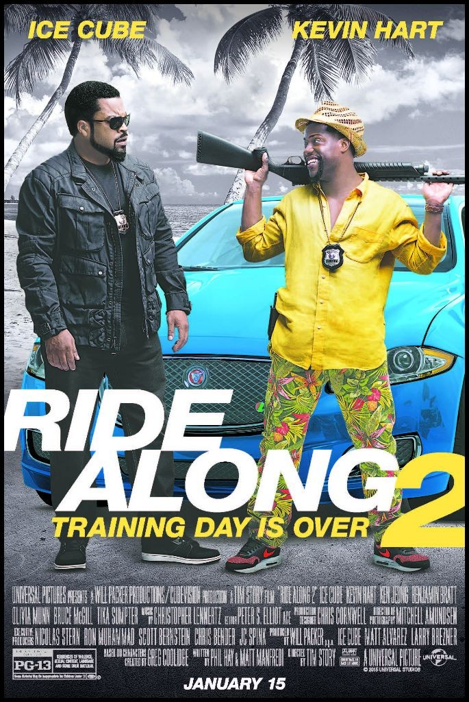 """""""Ride Along 2""""passes """"Star Wars"""" to top N. American box office"""