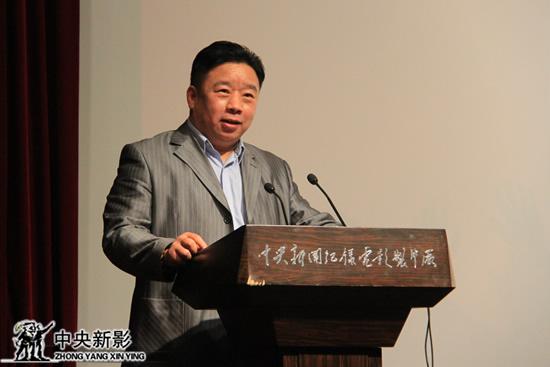 《拳台上的中国》总制片人任建红主持