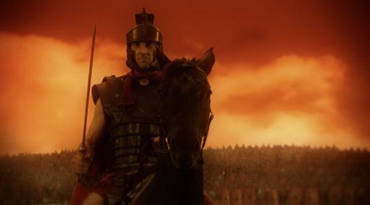 罗马军队首领凯撒