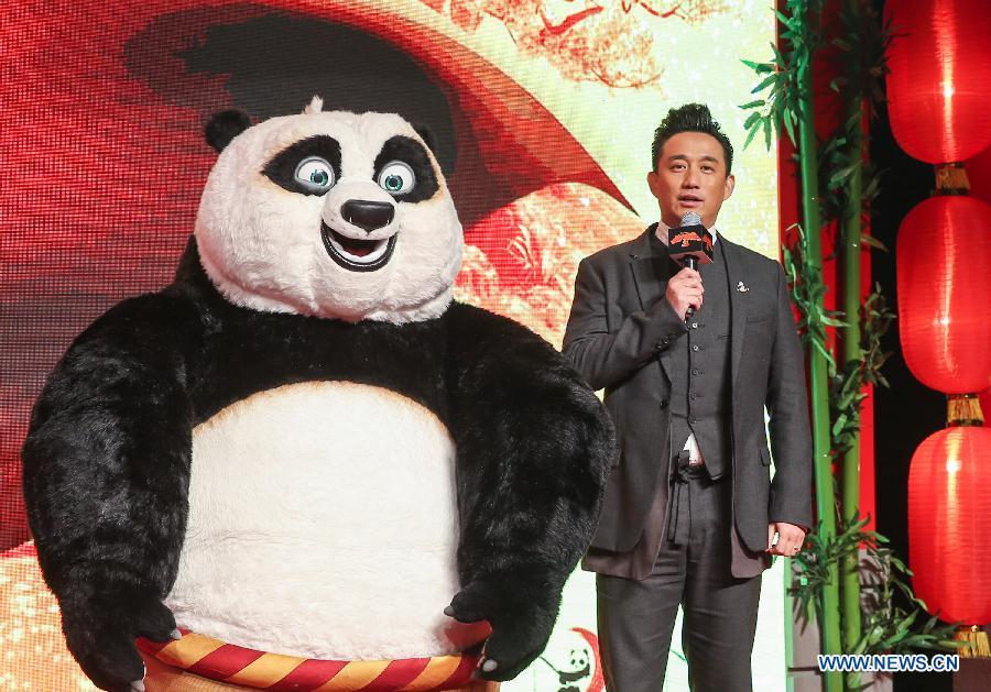 """Le personnage Po de """"Kung Fu Panda 3"""", auquel a prêté sa voix l"""