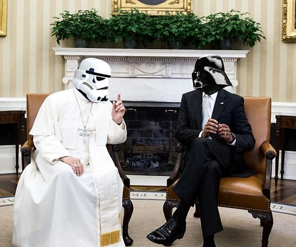 Quand les personnages de Star Wars prennent les rênes du pouvoir sur Terre