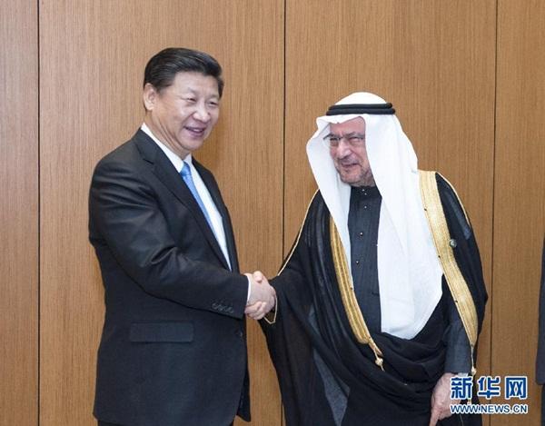 الرئيس الصيني يلتقي الأمين العام لمنظمة التعاون الإسلامي