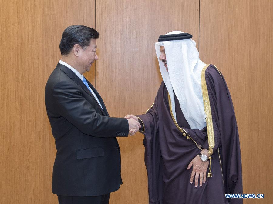 Xi Jinping discute de la coopération commerciale et énergétique avec le chef du CCG