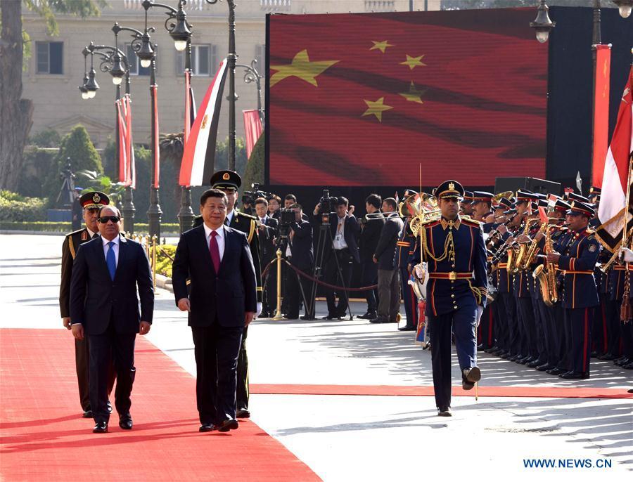 Seconde étape de la visite du président chinois au Moyen-Orient