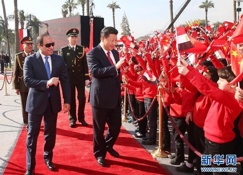 Retour sur les résultats de la visite en Égypte du dirigeant chinois