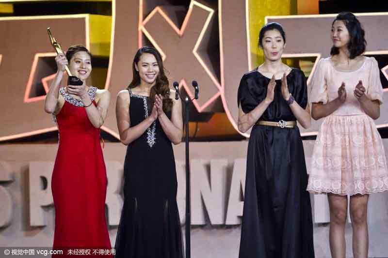 The Chinese women
