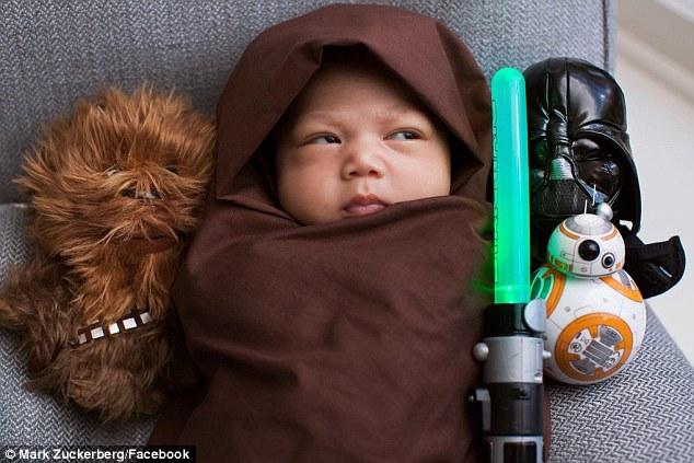 Mark Zuckerberg partage des photos de son bébé