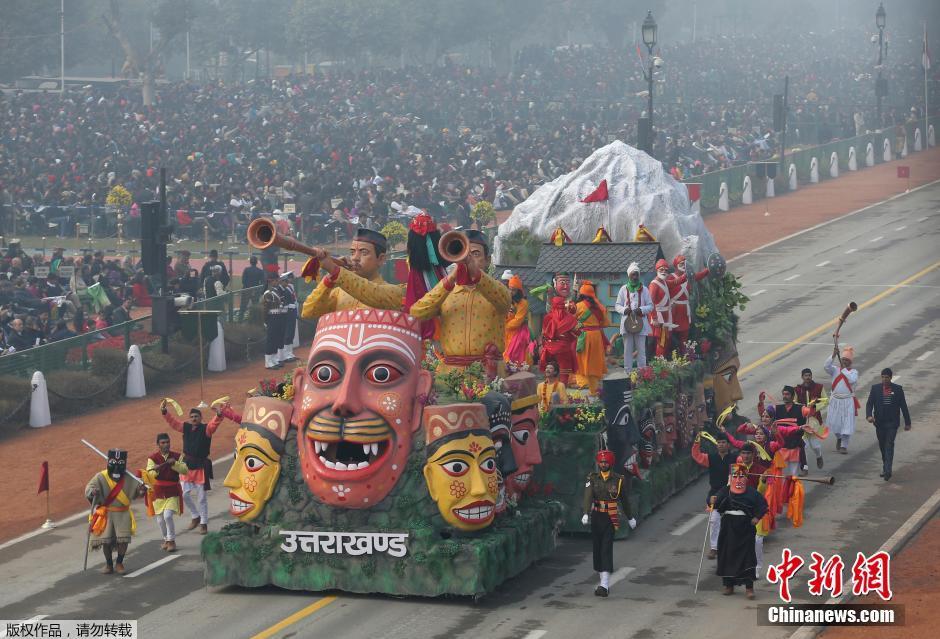 Défilé de la Journée de la République en Inde : participation de l