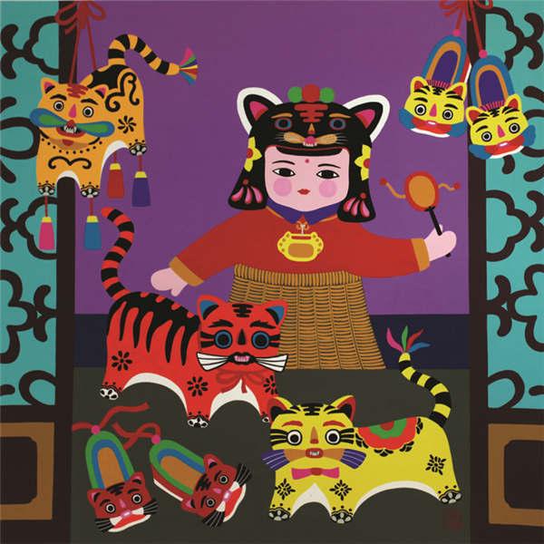La peinture paysanne chinoise