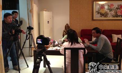 摄制组在北京拍摄现场