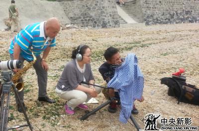 摄制组在大连外景拍摄