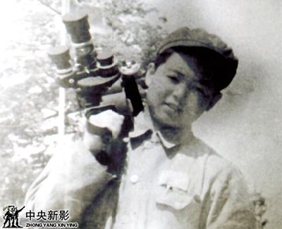 本文作者在平津战役前线拍摄