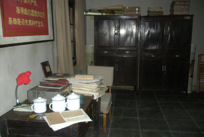 女民兵营房、办公室场景陈设