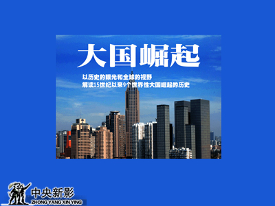 纪录片《大国崛起》海报