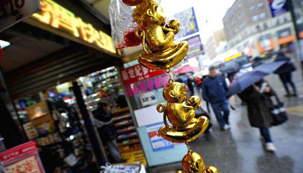 Aumentan las ventas en el barrio chino de Nueva York