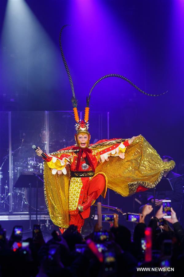 """"""" ليو شياو لينغ تونغ"""" يقدم عروضا رائعة في نيويورك بحلول عيد الربيع"""