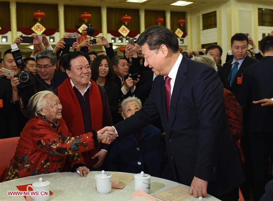 Les dirigeants chinois présentent leurs voeux du Nouvel An chinois