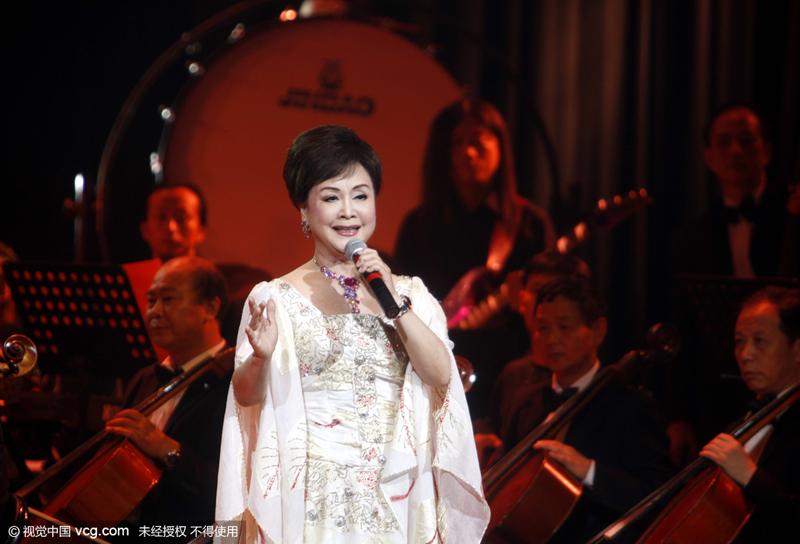 Архивное фото: Ли Гу-и, Певица/CFP