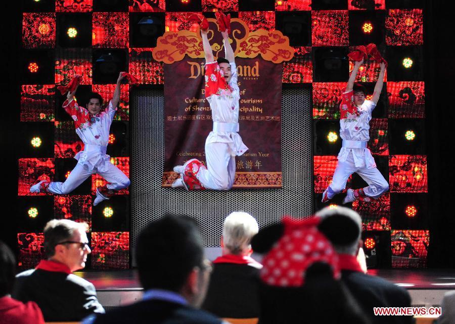 В Лос-Анджелесе состоялась презентация Года туризма Китая и США