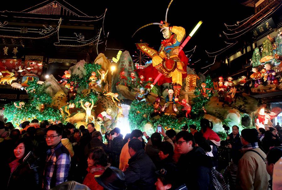 Le Jardin de Yuyuan : un océan de lanternes