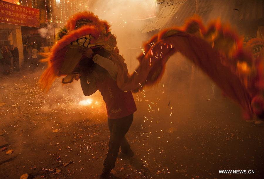 4/11Photo prise le 7 février 2016 à Calcutta, en Inde. (Xinhua)